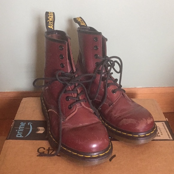 Dr. Martens Shoes | Broken In Oxblood